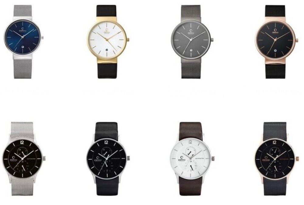 These sleek dress watches are classy, yet sporty and perfect for the office.  If you'd like to get him a quality watch with a great warranty, this is the watch to buy.