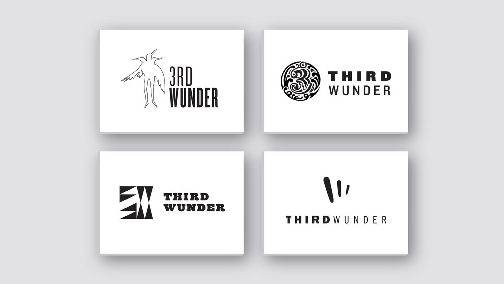Logo exploration (4 directions)