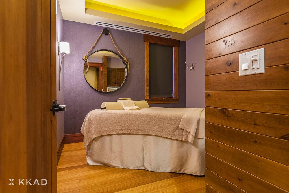 Brasada Spa Massage Room