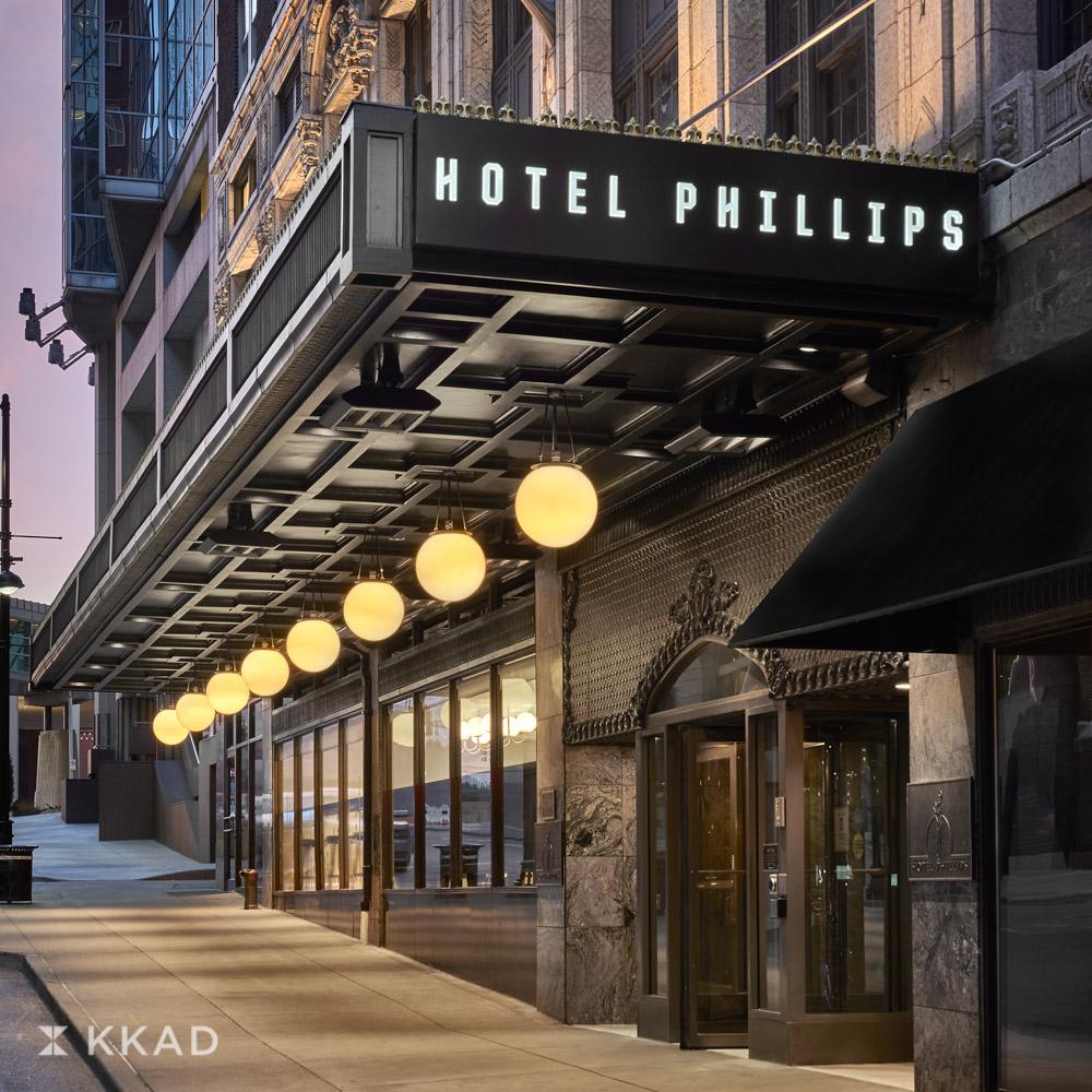 Hotel Phillips Exterior
