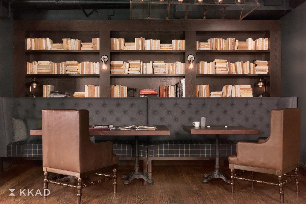 Q & C Hotel Lobby Library