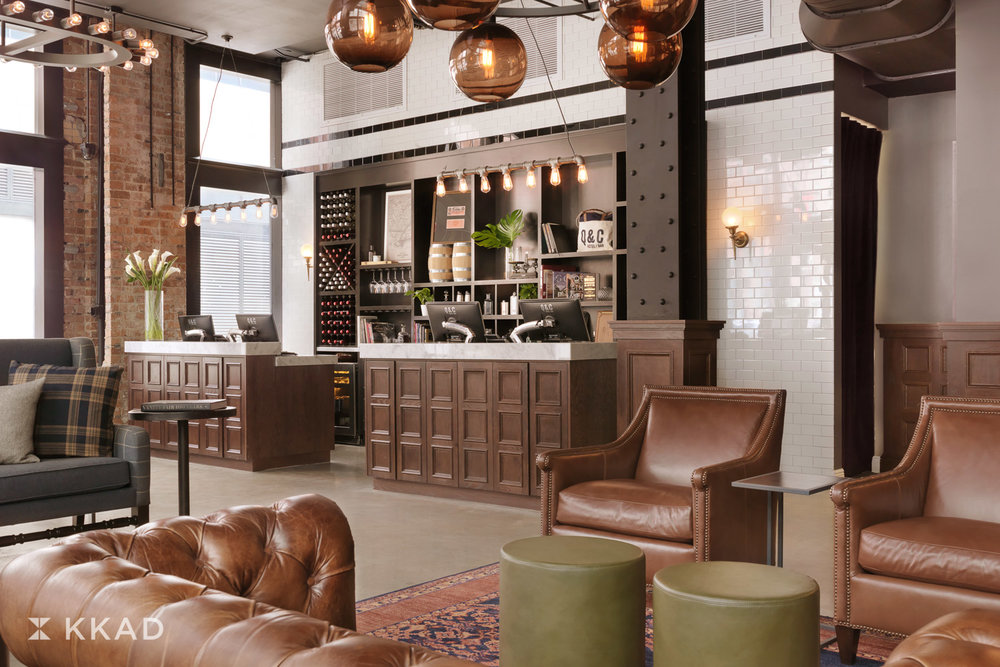Q & C Hotel Lobby