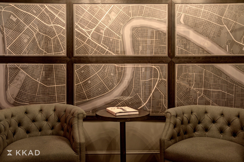Q & C Hotel Lobby Map