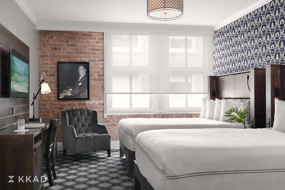 Q & C Hotel Queen Guestroom