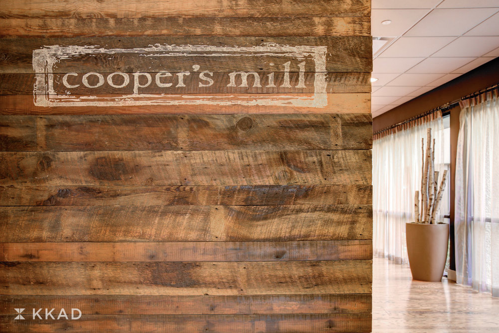 Cooper's Mill Signage