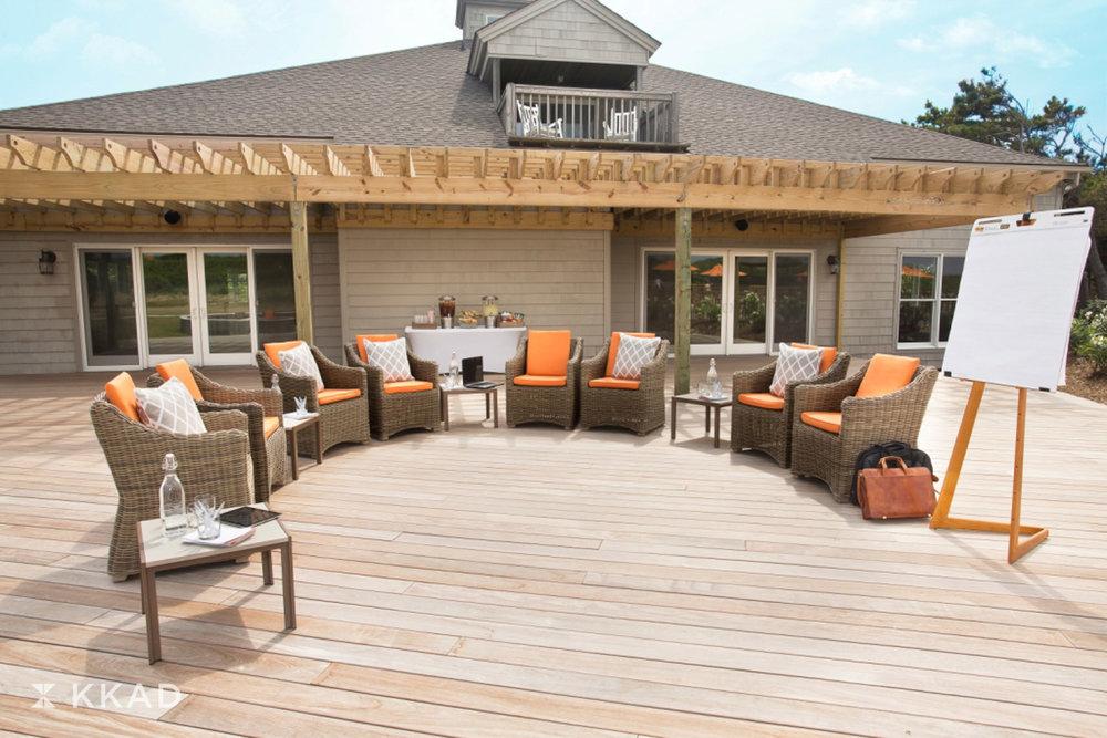 Sanderling Deck