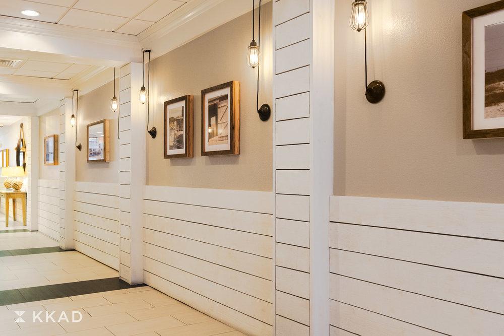 Beach House Lobby Corridor