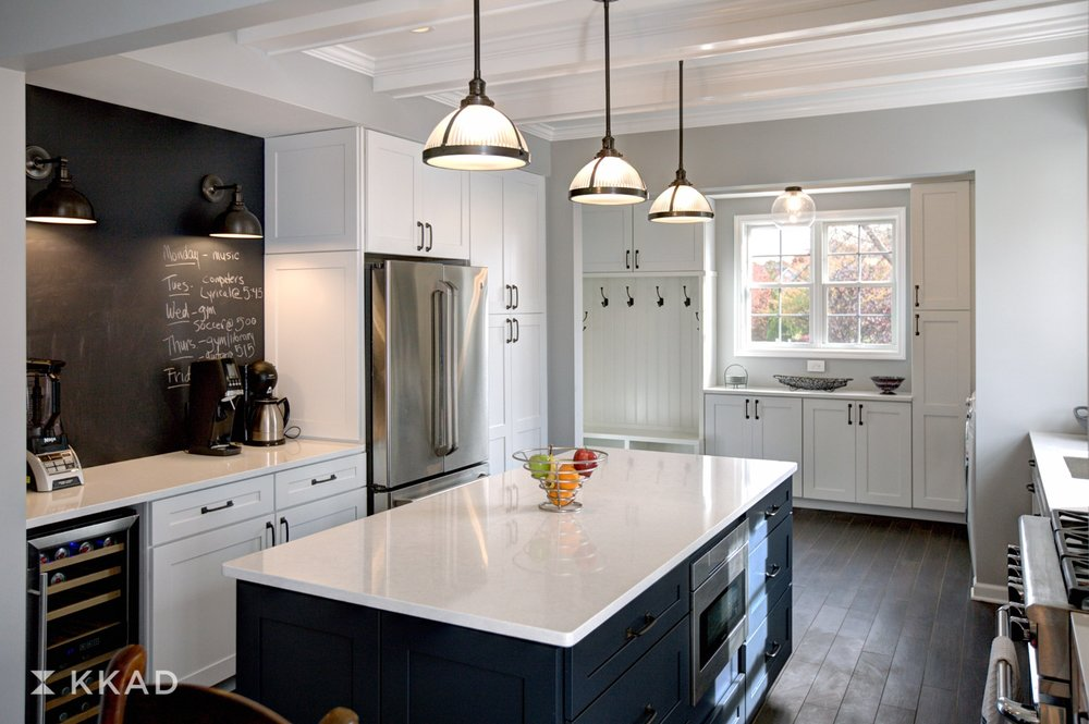Cooper Drive Kitchen Island