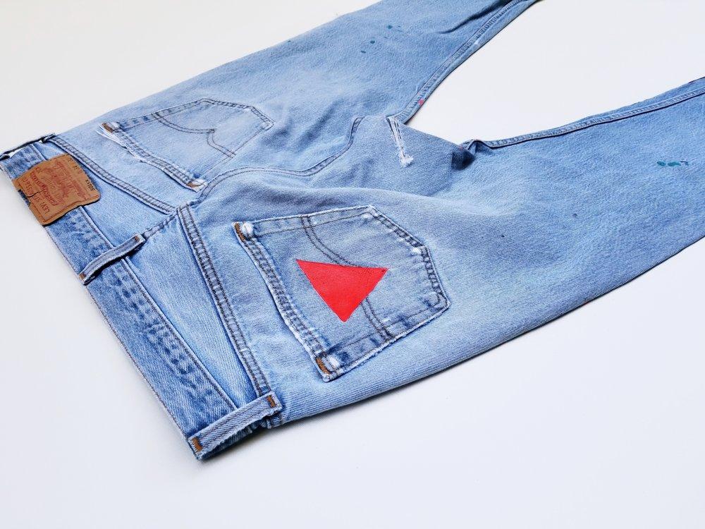 """""""The Matter Splatter""""Jeans"""