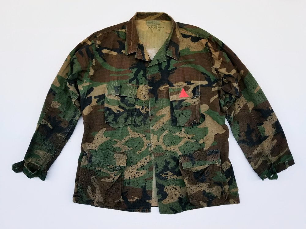"""""""The Constitution Camo"""" Jacket"""