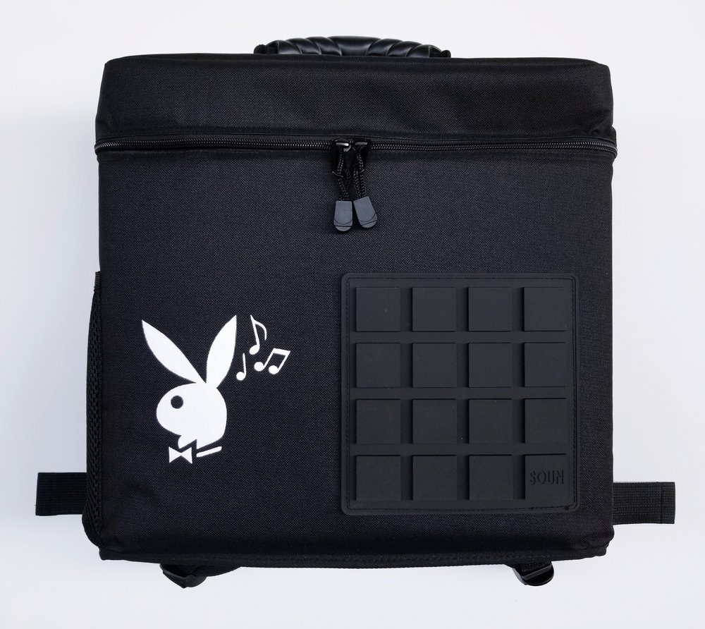 Playboy Logo on SounBag