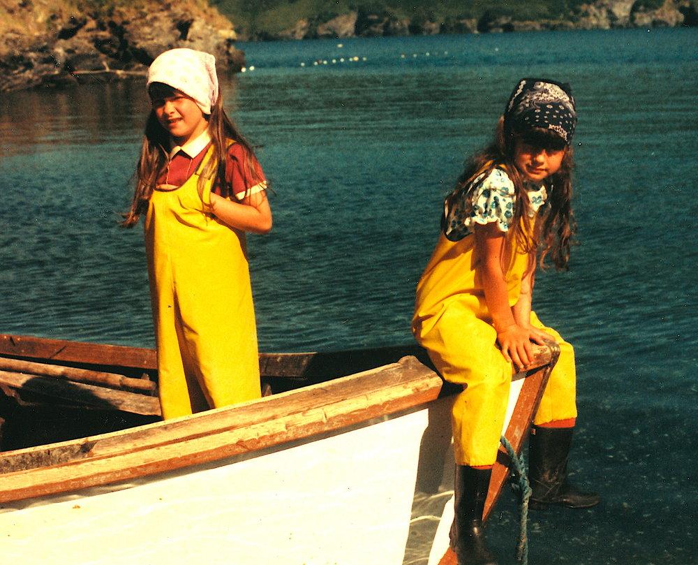 Alaskan Fishing Girls