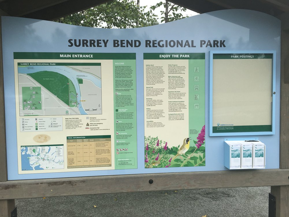 Surrey Bend Sign