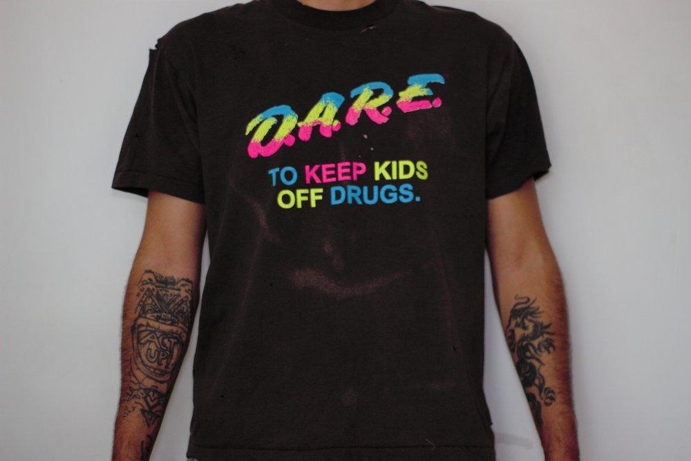 4. OPT Bleached Dyed D.A.R.E. Tee - Brand: Jonny LovelessPrice: $40.00