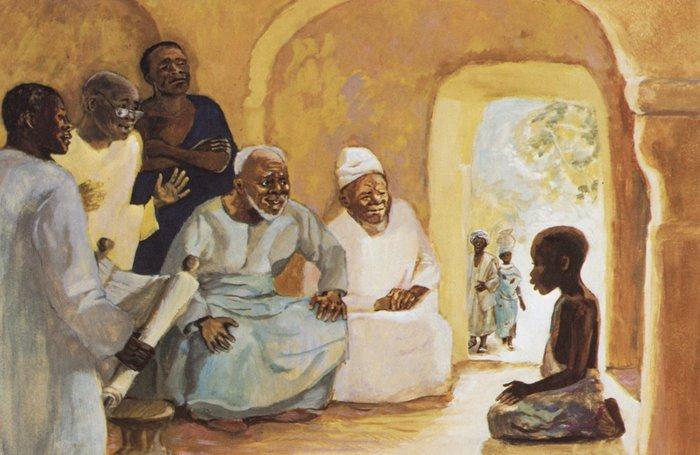 Jesus Among the Teachers, by JESUS MAFA