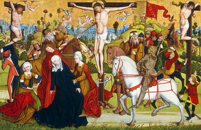 Calvary, by the Master of the Death of Saint Nicholas Munster
