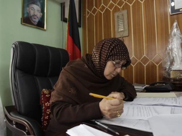 Afghanistan's mother of education fears girls will be deprived again as Taliban regains territory