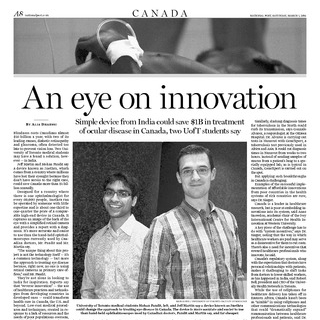 Third World Lessons in healthcare: How 'reverse innovation' could revolutionize Canada's medical landscape