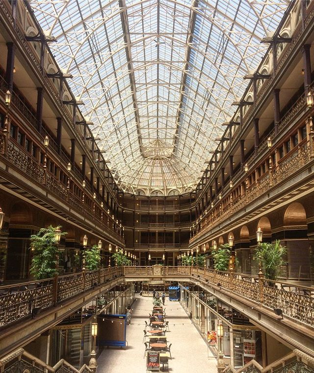 Cleveland's crystal palace // the Cleveland arcade