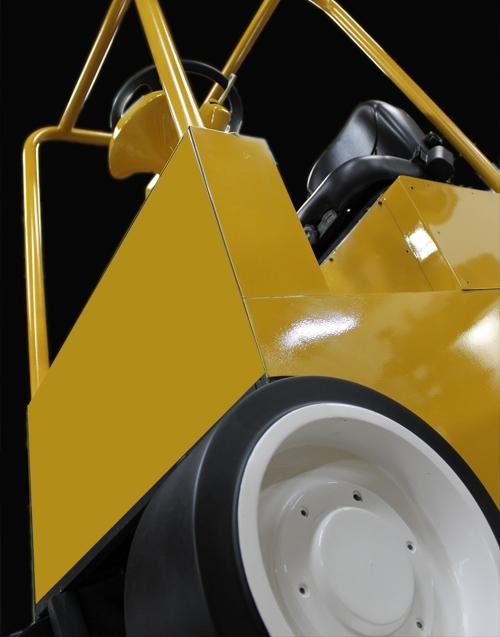 3D Forklift cab simulator.