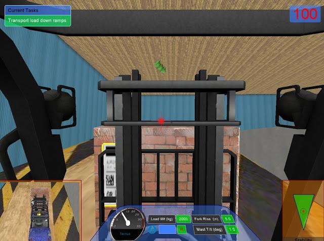 Forklift Cab Simulation