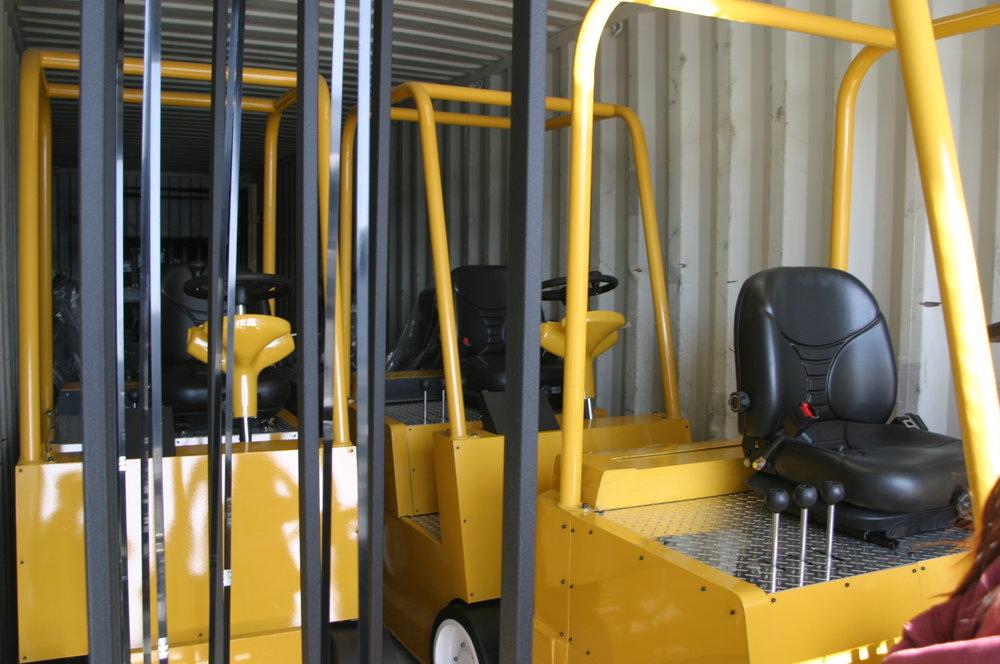 Cab Similators Shipping