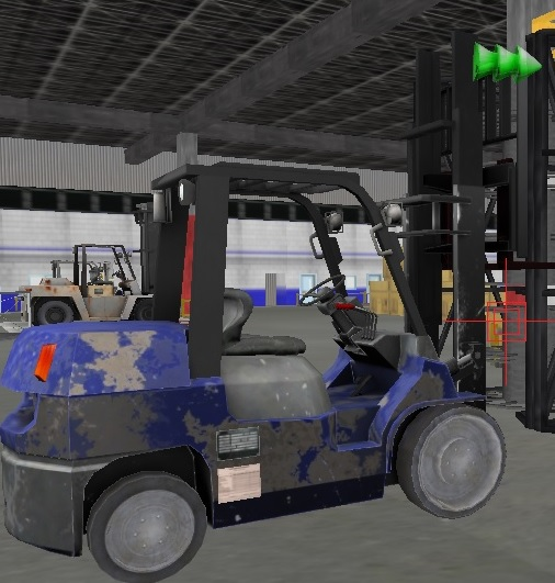 3D Forklift software can be customized to any forklift application.