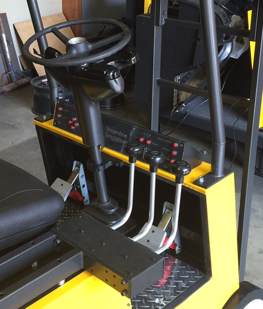 Streamline Simulations can fully customize our base cab.