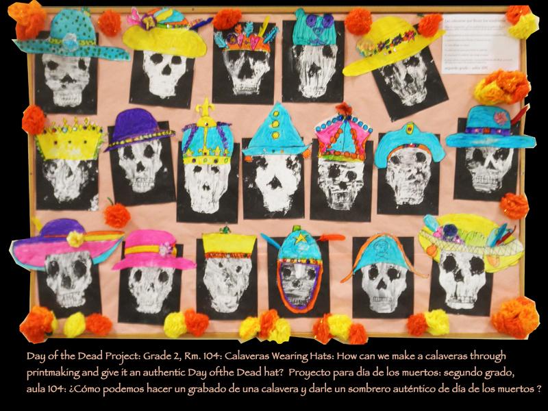 9.Grade 2 Dia de los Muertos Project rm.106.jpg