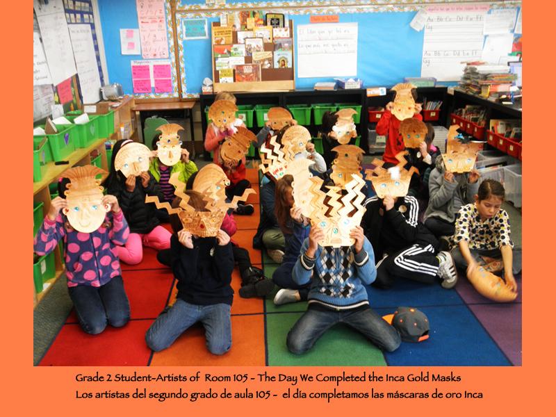 19.Gr. 2 Day Completed Inca Gold Masks.jpg