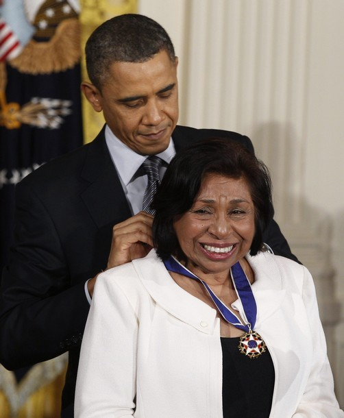 In 2011 Sylvia Mendez received the Presidential Medal of Freedom from President Obama.
