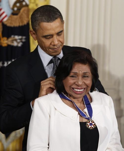 En 2011 Sylvia Mendez recibió la Medalla Presidencial de la Libertad del presidente Obama.