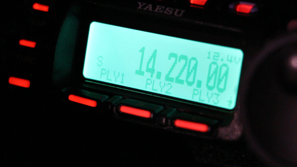 FT-857D on 14 Mhz