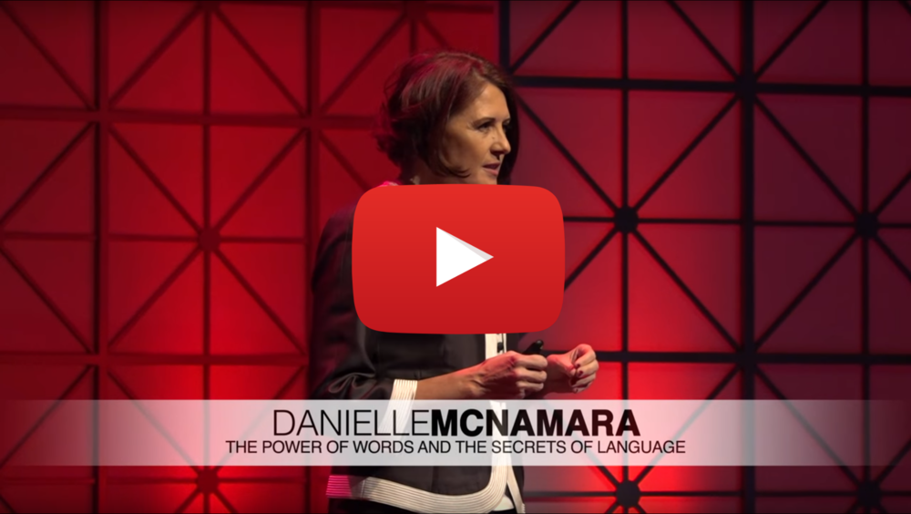 Danielle McNamara | TEDxASU - March 22, 2017