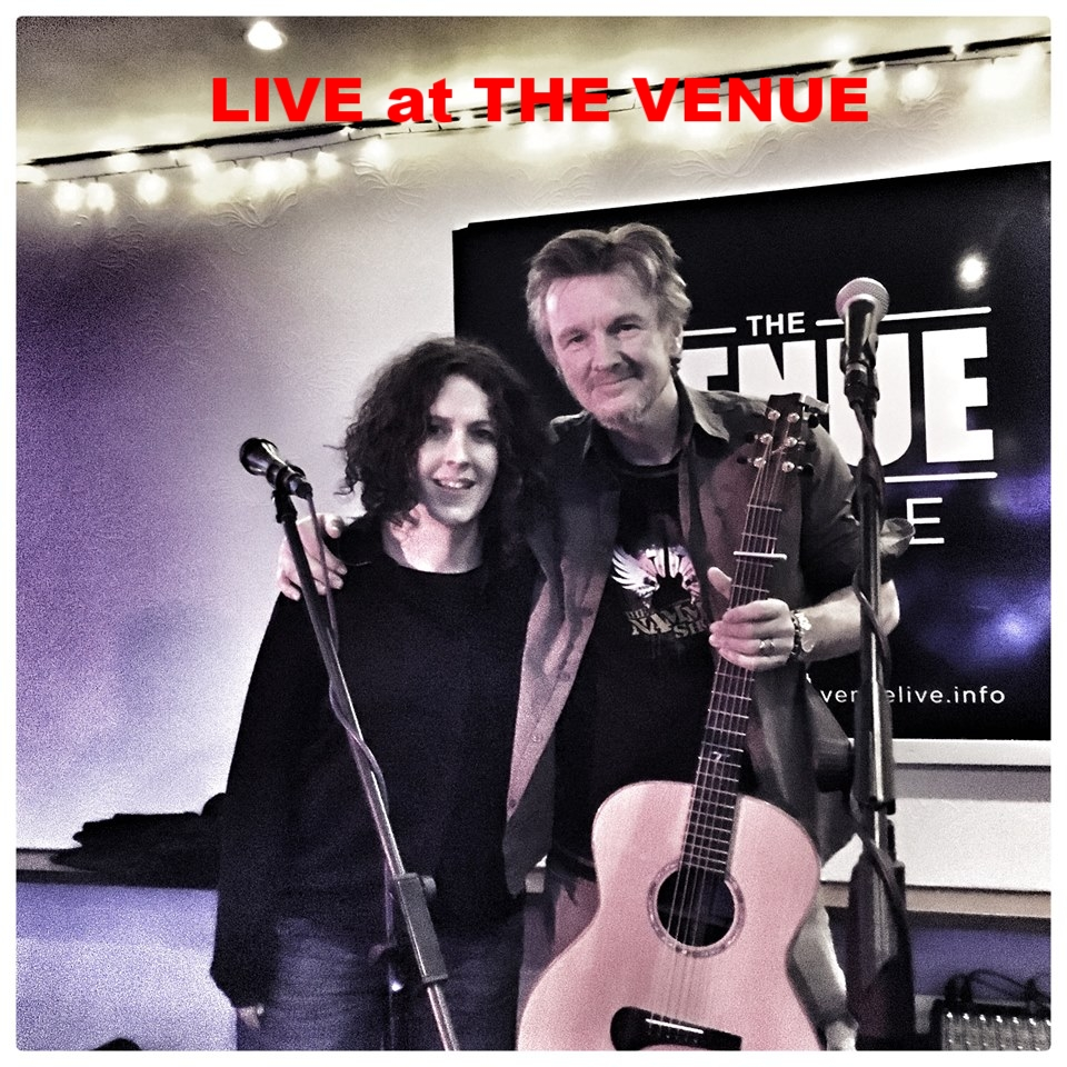 LIVE at THE VENUE UK: with the amazing DORIE JACKSON
