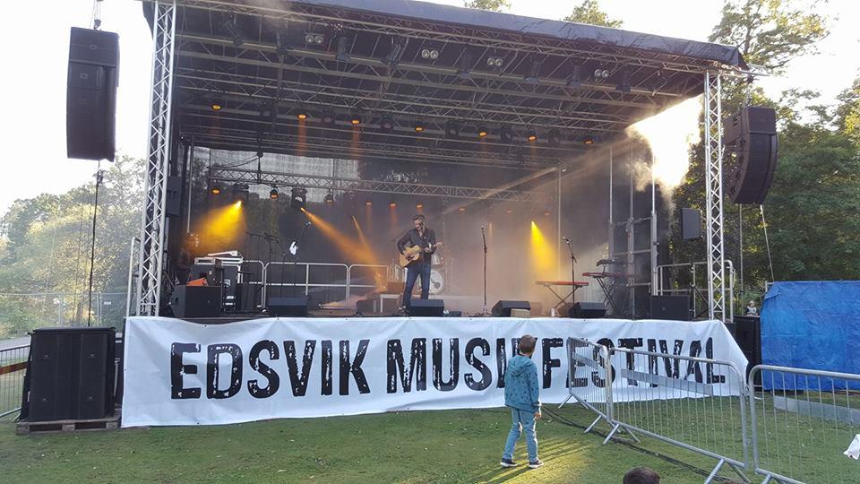 Soundcheck Edsvik music festival 26/8/17