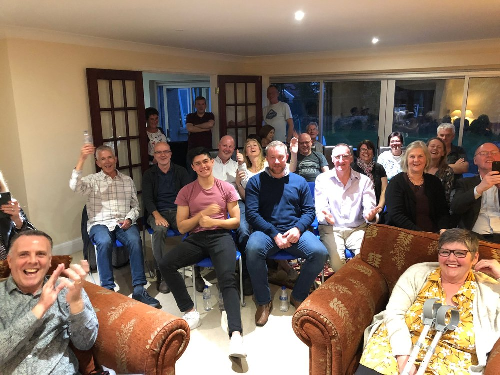 House Concert in Morecambe UK.