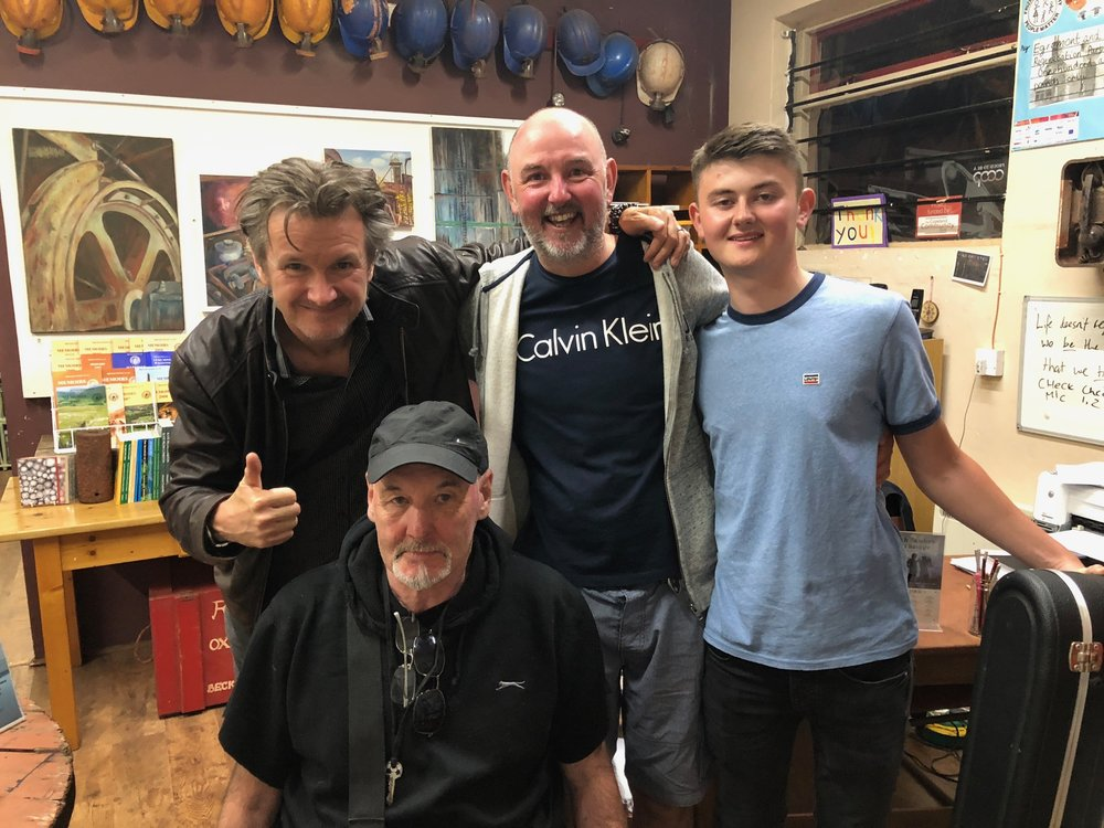 Frank, John and Danny, Egremont's finest…