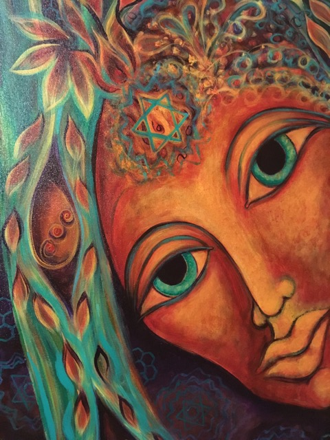 Mama Gaia ~ Painting our Planetary Prayers ~ An Intentional Creativity Adventure - In this painting class we will call upon the super powers of the feminine spirit. From her body all life grows. Mama Gaia is Our Home.