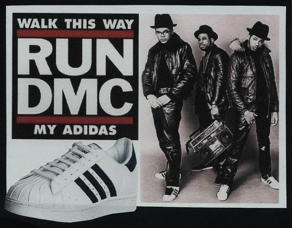 Adidas X RUN DMC