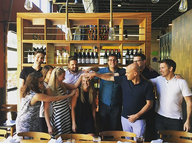 It is with a heavy heart that we have to say goodbye to our friend @lesterr122 . The office will be a little less bright tomorrow morning but we wish you good luck with your one way ticket to Australia! . . . #goodbye #goodluck #architecture #architecturelife #denver #firm #designers #officelife