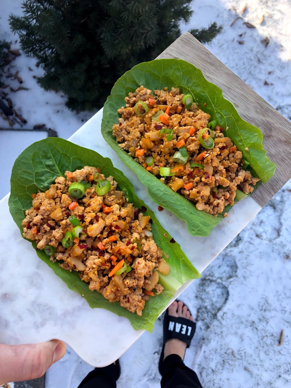 Lean Lettuce Wraps.JPG