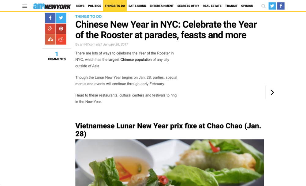 am New York - Vietnamese New Year
