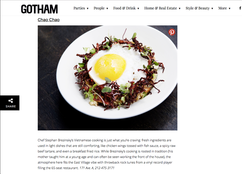 Gotham - The New Wave of Vietnamese Restaurants Taking Over NYC