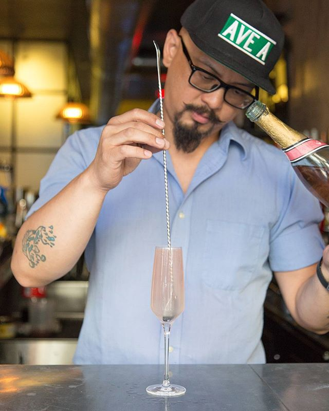 Thirsty this #Thursday? Come see our #bartender @Warrenbnyc and enjoy drink specials!