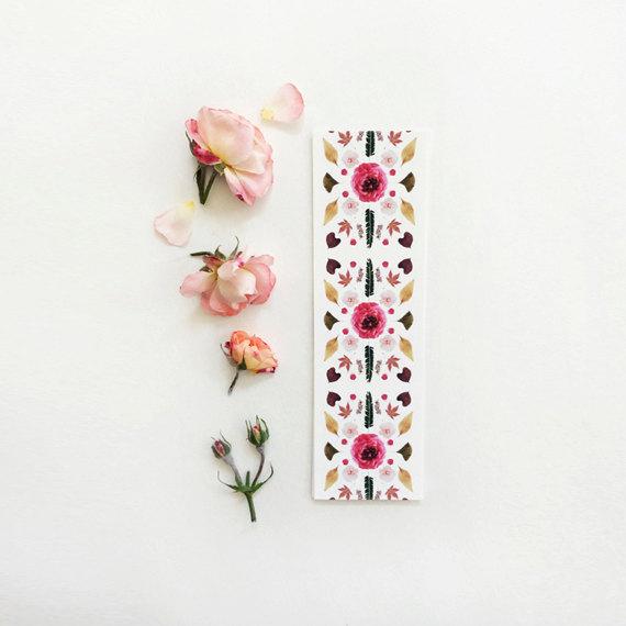 Scandinavian Botanical Bookmark