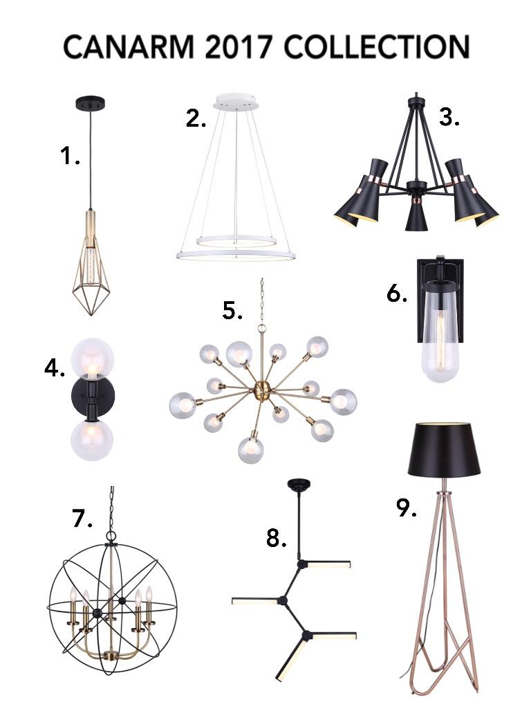 canarm lighting collection meghan winsor design