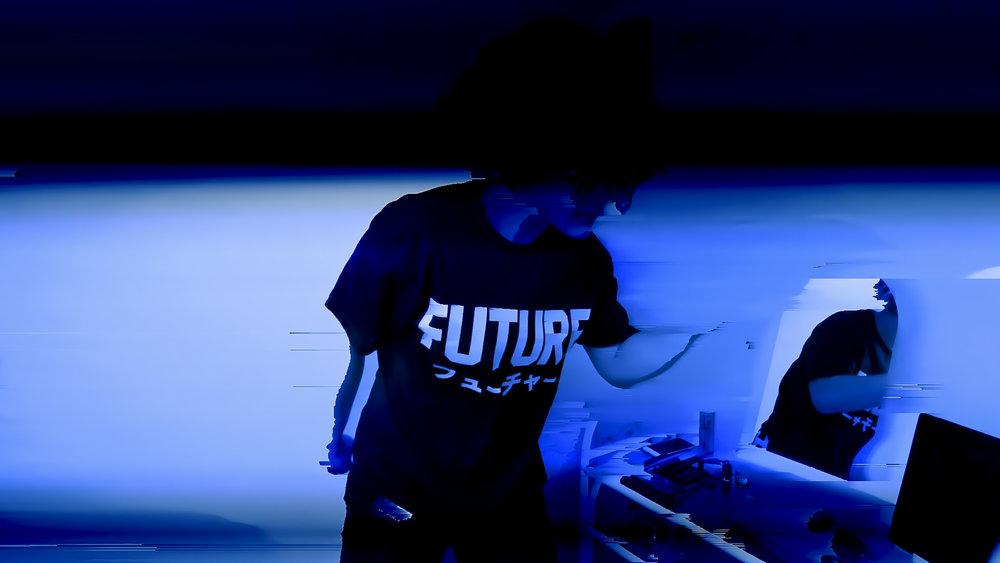 Future-Augmented-Organism-Glitch-Art