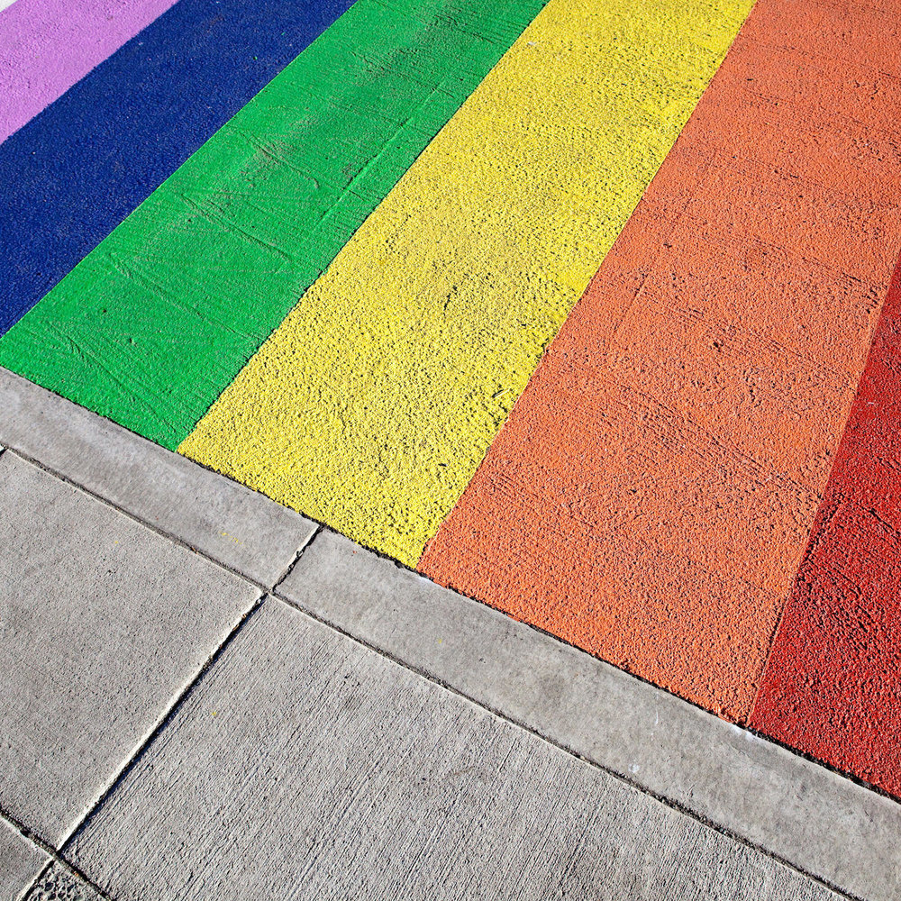 Rainbow Crosswalk - Southeast Kootenay School DistrictSoutheast Kootenay School District voted to paint a rainbow crosswalk outside of their district office in Cranbrook as a symbol of inclusion and acceptance. A group of students and teachers at Fernie Secondary School were catalysts for the entire school district after painting their crosswalk in summer 2017.