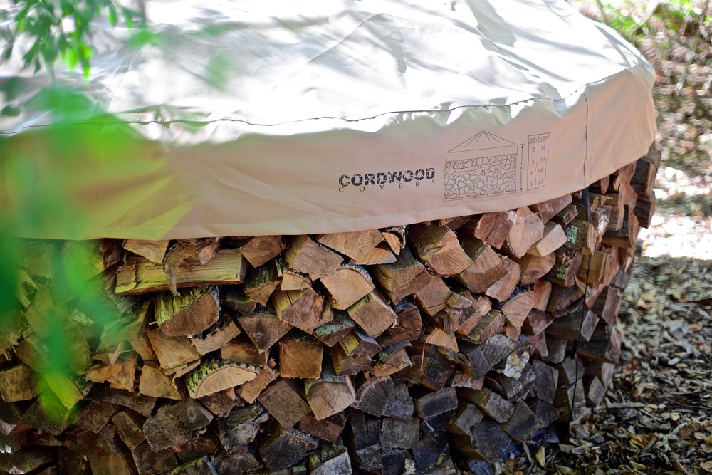 Cordwood Covers Why Your Holz Hausen Needs A Cover